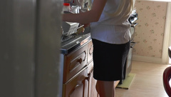 STEP MOM CAUGHT MASTURBATING GETS FUCKED BY STEP SON