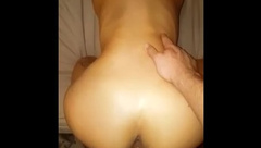 My Hung Bf Rudely wakes me up to fuck me doggy POV