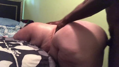 Bbw getting piped down