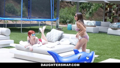 DaughterSwap - Hot Teens Swap & Fuck Dads On Vacation