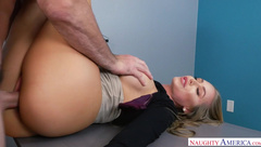 Nicole And Charles Naughty Office
