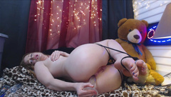 Gingerspyce - Anal Domination Hour Live pt 1 in private premium video
