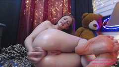 Gingerspyce - Anal Domination Hour Live pt 2 in private premium video