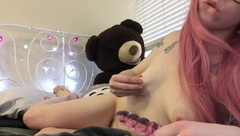 princesspeachie - Panty Stuffing and New Toys in private premium video