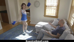 ExxxtraSmall - Petite Cheerleader Gets Tight Pussy Smashed