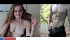 #2. Dirty russian girls in videochat (OMEGLE, VIDEOCHAT, CHATROULETTE)