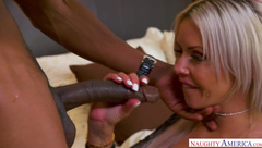 Busty Mommy Dreams About Big Black Cock