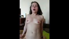 My girlfriend multiorgasms and squirt on top of me