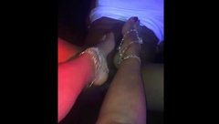 ADULTWORK BRITISH ESCORT MILF GIVES BBC SEXY FOOTJOB WITH HAPPY ENDING