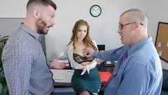 TeamSkeet - Lena Paul Fucked In The Office