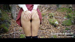 Young Student gets Fucked Deep in the Woods | Livinginafiction