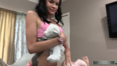 Eden Sin Meets Her Adopted Mommy Sadie Holmes and a Bad New Daddy
