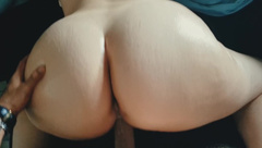 PAWG with Creamy Pussy Riding his Cock - POV Doggystyle & Reverse Cowgirl