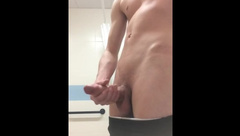 Another Public Gym Wank
