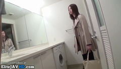Japanese agent estate fucked during work