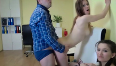 Cute00kiara - Cockold watches Shana gets fucked and takes the load in her mouth