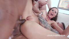 Happy B-day Tina Kay 10o1 DAP Gangbang With Balls Deep Anal Squirting Gapes 11 Cumshots