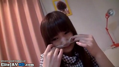 Japanese shy 18yo conviced to have sex