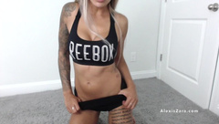 Cum on my Tits - Alexis Zara Lotion Play TIttyFuck JOI on her Titties