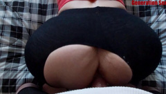 Cheating Wife Ripped Yoga Pants Banged