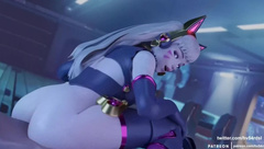 Overwatch - Dva in 1080 HD Compilation
