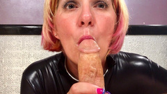 Kandy's Addicted to Swallowing Cum...