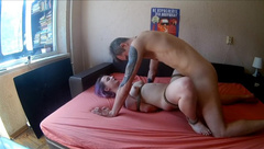 Bondage Sex with a little Horny Girl