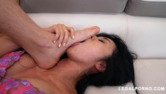 Marica Hase Gets Double Stuffed By Hard Dicks