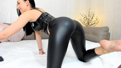 Bubble Butt Shiny PVC Latex Leggings Melissa Sweet