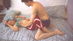 Real Sex and really Exciting. Couple has Fun and Enjoys Sex