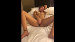 White Girl Fucked by Big Black Cock in Dirty Motel