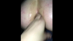Pussy and Ass Fisting with Big Squirt