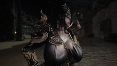 Skyrim Lust Mask Female Knight 3p