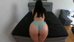 Moaning Girlfriend getting Fucked and Covered in Cum POV