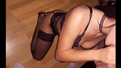 Hot Amateur Babe gets Fuck in Sexy Lingerie - BlaBlahCouple