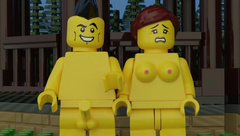 Lego Porn with Sound - Anal, Blowjob, Pussy Licking, Vaginal and Handjob