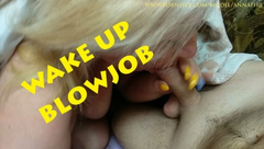 StepMom Woke me with a Blowjob
