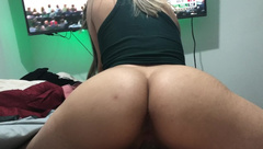 NBA Bucks Fan 18 Year old College Slut Riding Dick - College Babe (4k)