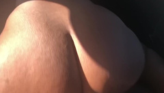 BUBBLE BUTT BOUNCING ON DICK IN CAR POV!!