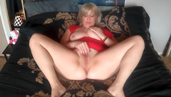MILF PUSSY AND BIG TITTY PLAY, DIRTY TALK