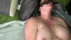 Bettie Cocker uses Vibrator and Squirts all over Cock
